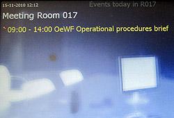 ÖWF-Delegation im ESA Astronautenzentrum Köln