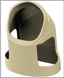 """3D model des """"hard upper torso's"""""""