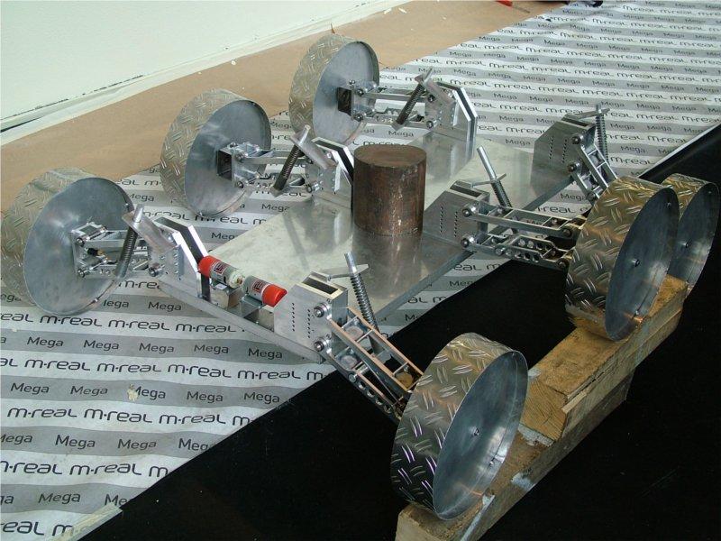 "PolAres Rover ""Phileas"" fährt"