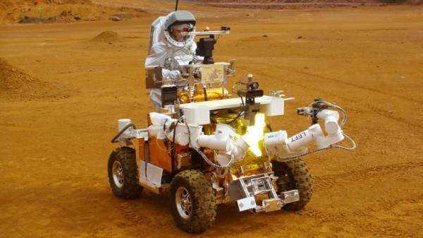 Aouda.X und ESA's Eurobot
