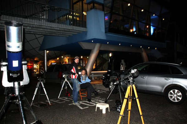 Beobachten mit Teleskopen