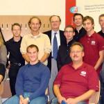 Gruppenfoto mit Schülern & Lehrern der HTL Eisenstadt, Biologen der Univ. Innsbruck & ÖWF'ler