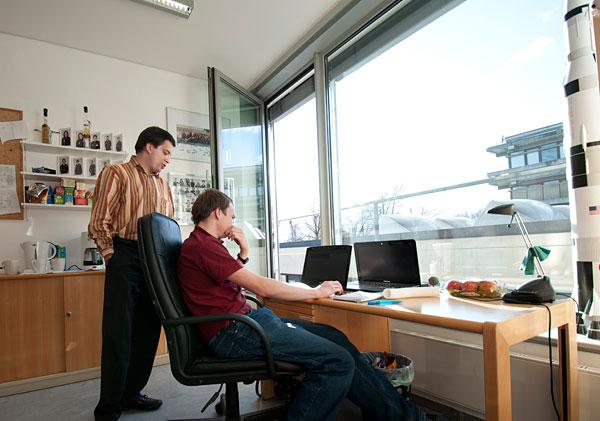 Aufenthaltsraum, Büro & Besprechungsraum