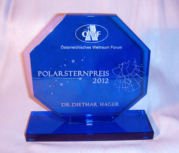 Polarsternpreis 2012 ergeht an Dietmar Hager!