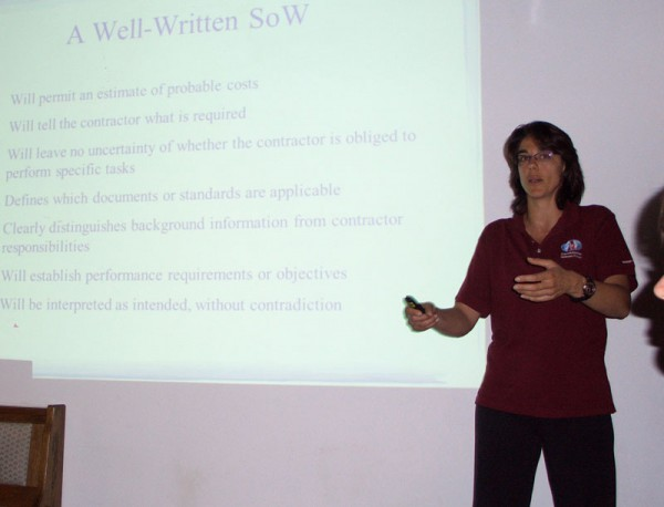ÖWF Academy mit Roberta Paternesi