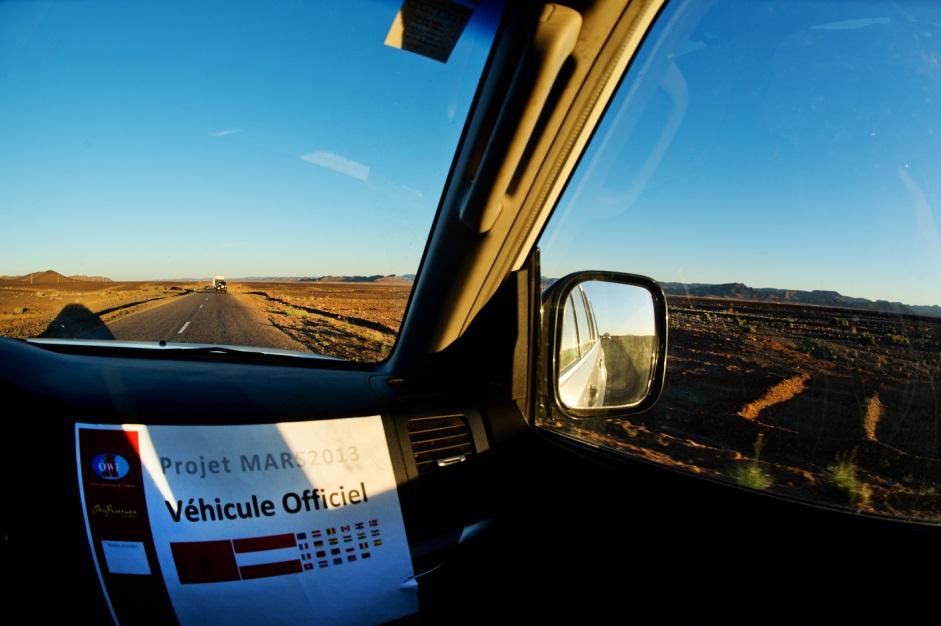 Travelling out into the desert. (c) OeWF (Katja Zanella-Kux)