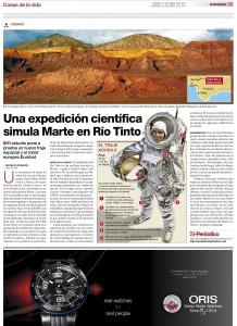 Zeitung El Periodico, 04 Mai 2011