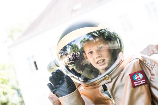 Kinder-Astronaut (c) ÖWF (Stefan Hauth)