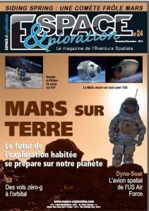 Espace & Exploration (Frankreich) Nov/Dez 2014, Titel & Seite 42-47