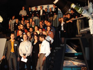 2007: The team gathers at the kick-off workshop of the PolAres project