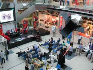 Donauzentrum Wien - die ÖWF SciFi Woche begeisterte etwa 10.000 Besucher.