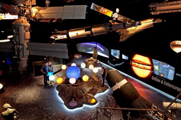 Neue Weltraumhalle im Haus der Natur (c) HdN – Kressl