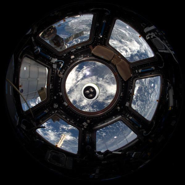 TiuTerra Kristalle im Orbit: Ein Bildbeweis :-)