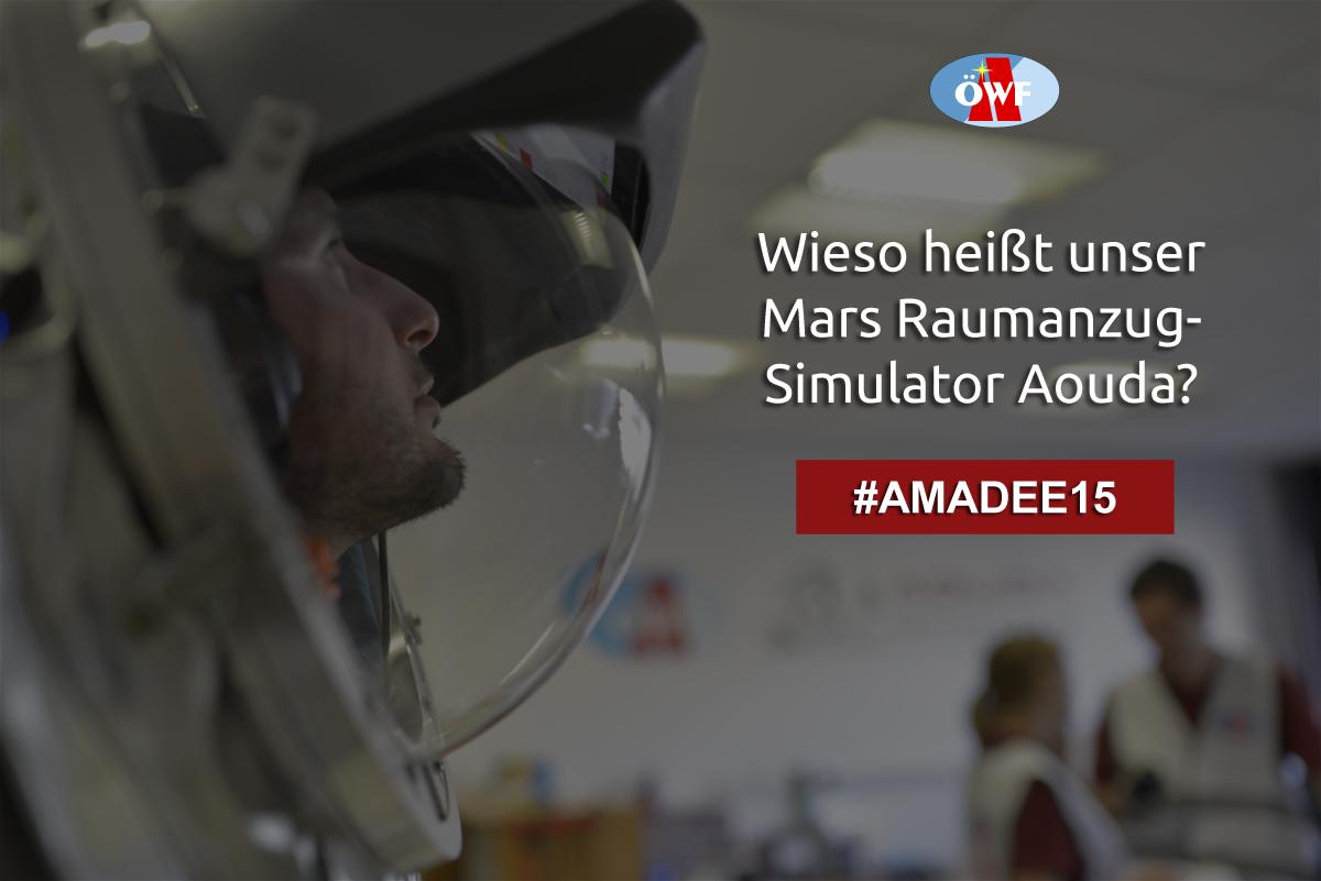 Update: Gewinnspiel beendet! || AMADEE-15 Gewinnspiel: Senden Sie uns Ihre Fragen!