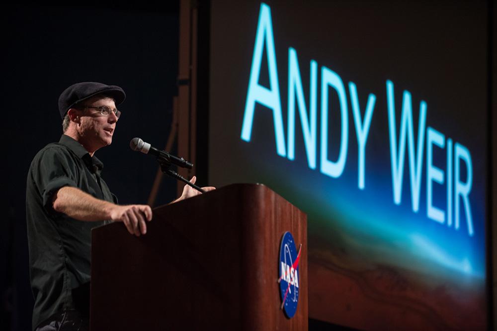 Ein Gespräch mit Andy Weir