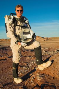 AustroMars Analog-Astronaut Dr. Norbert Frischauf (c) ÖWF (Andreas Köhler)