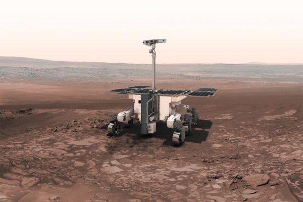Der ExoMars Rover, der 2020 zum Mars fliegen soll (c) ESA
