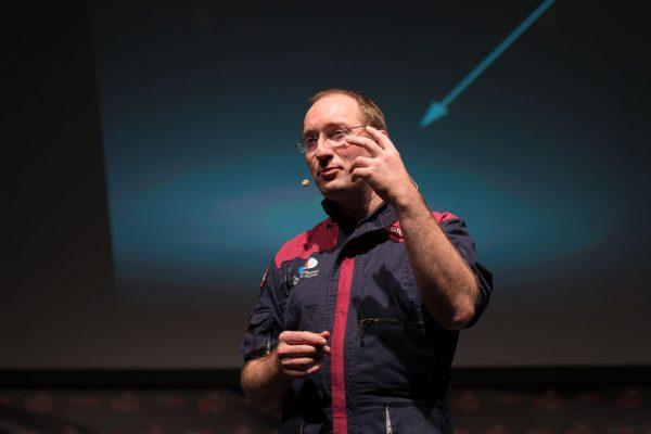 Mars-Panel mit Dr. Gernot Grömer (c) ÖWF (Michael Seirer)