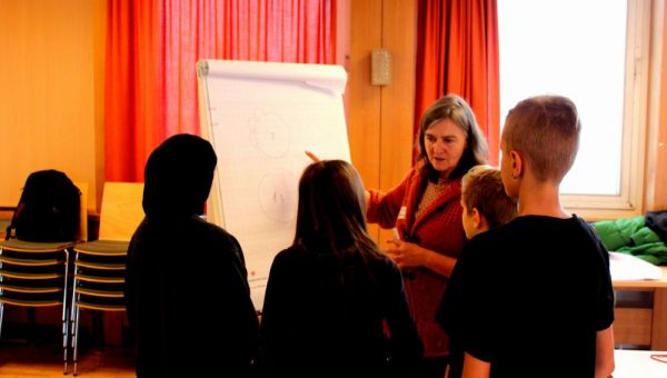 Teacher training: Inspire the students