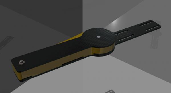Das erste Design des neuen Prototyps (c) ÖWF (HTL Fulpmes)