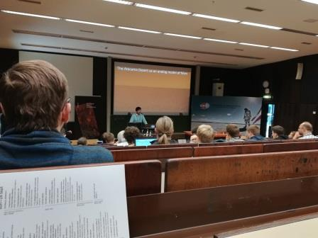 During the European Mars Conference.
