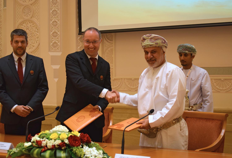 ÖWF und Sultanat Oman unterzeichnen Kooperationsvereinbarung in Maskat, Oman