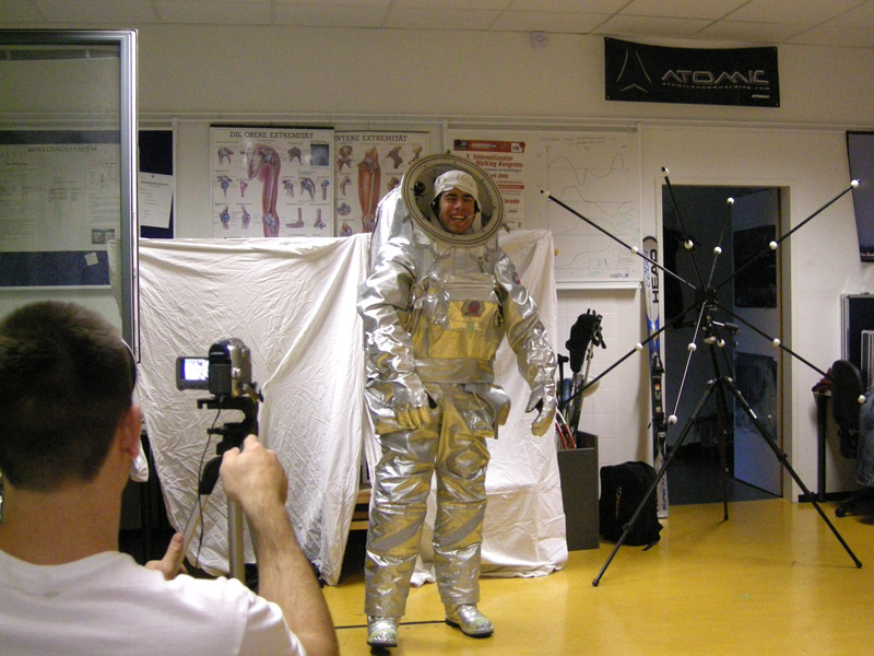 On to Mars! – Bewegungsanalyse für einen Raumanzug