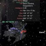 Screenshot Redshift App mit Kurzinfo Über Wega