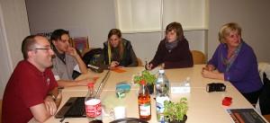 Projektbesprechung mit Kindergartenpädagogen, Vertretern von Univ. Innsbruck und ÖWF.