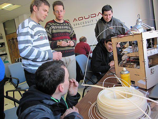 Makerbot fasziniert
