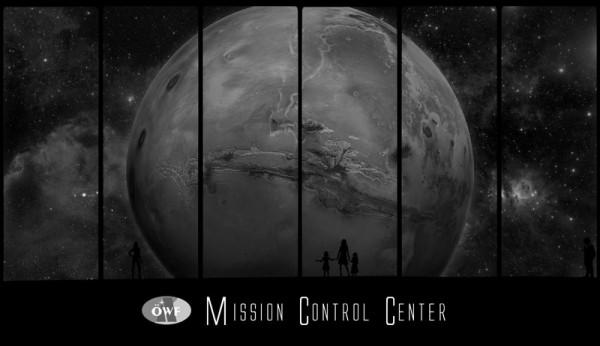 Fenster zum Mars (B&W)