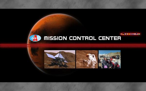 Hintergrundbild Fahnen für den Mars