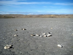 Drill Hill, Haughton Crater (Devon Island, Can)