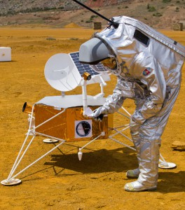 Aouda.X inspects White Label Space Lunar Lander Model