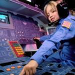 Shuttle Simulation beim US Space Camp