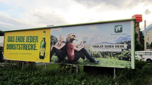 TT Plakat im Feld