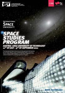 ISU Poster for the Space Studies Program 2011 in Graz