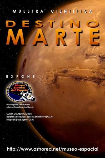 Poster Destination Mars / Destino Marte