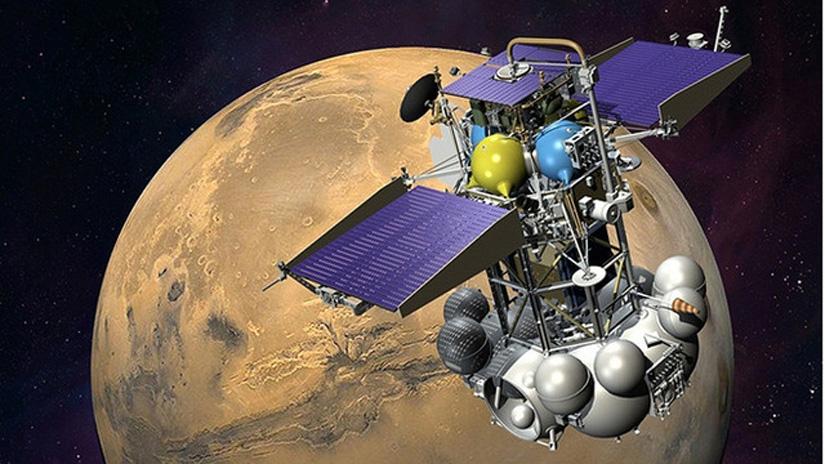 Phobos-Grunt gestrandet