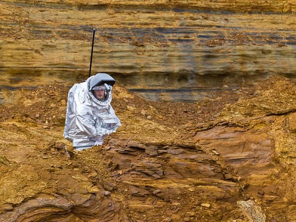 04 - Aouda.X at the rock garden (Rio Tinto Mars Simulation)