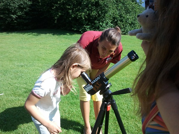 06 - young university on tour / solar observations