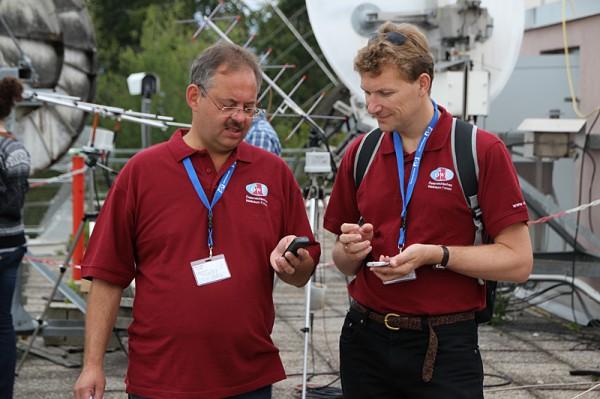 08 - M. Taraba + N. Frischauf short before launch of Passepartout balloon