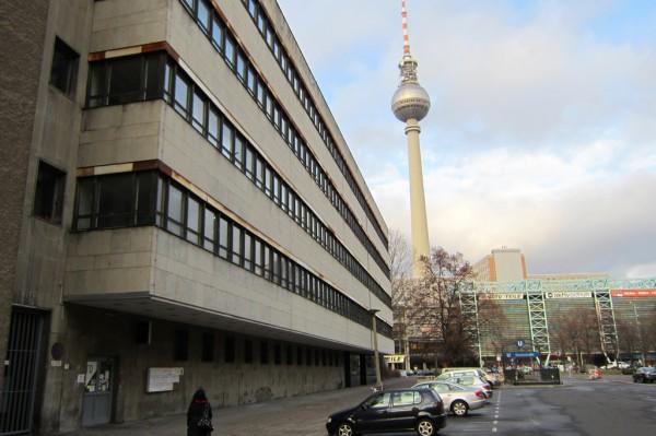 Ehemaliges Verwaltungsgebäude der Post beherbergt das ÖWF Büro in Berlin
