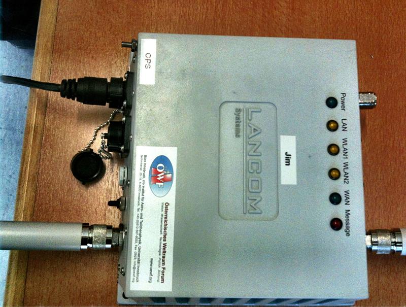 Neue WLAN Hardware für Feldtest im April 2012 im Test