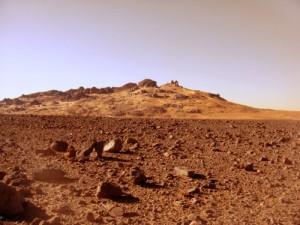 Morocco landscape similiar to Mars
