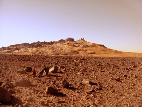 Mars Analogue -Scouting in Northafrica
