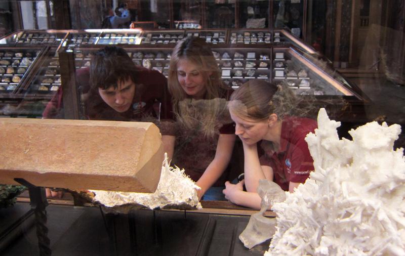 Geoscience Training Workshop oder die Erkenntnis, dass Steine ganz und gar keine faden Objekte sind.