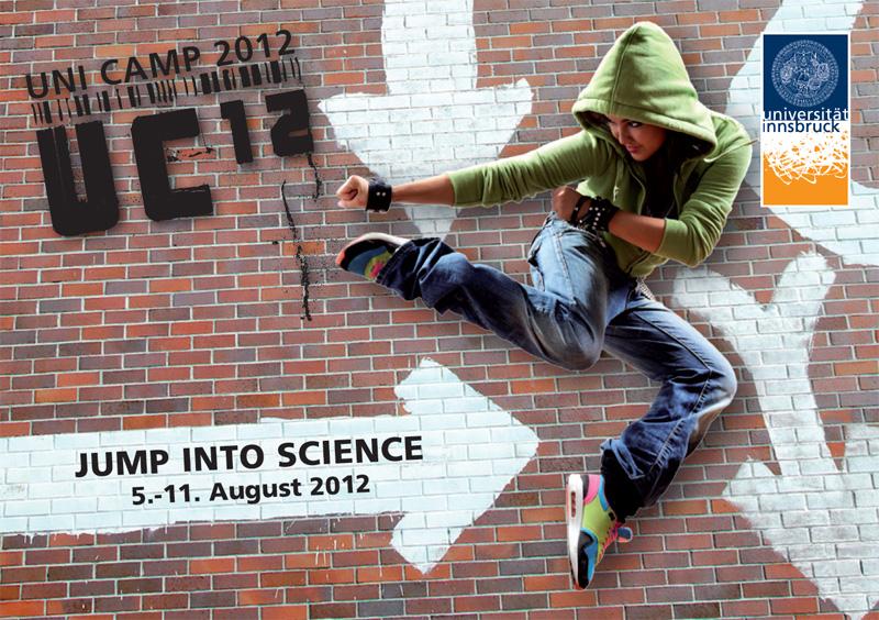 UC12 – Uni Camp 2012: Wissenschaftswoche für Jugendliche von 5.-11.  August 2012