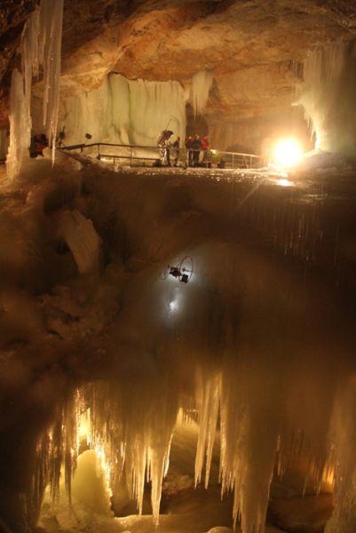 Cliffbot im Tristan Dome (c) OEWF / APM