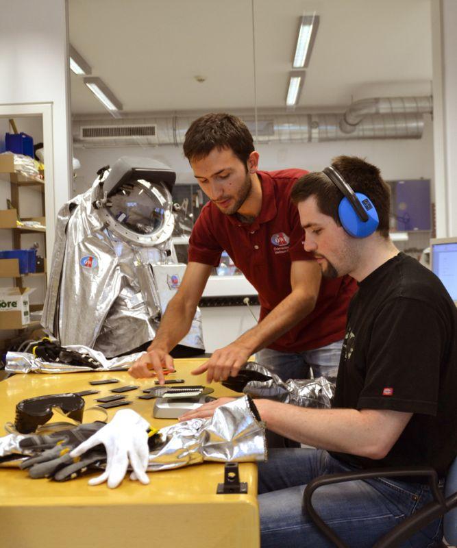 Österreichisches Weltraum Forum arbeitet mit Blinden für Raumfahrtprojekt